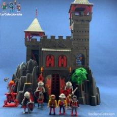 Playmobil: PLAYMOBIL - CASTILO DEL DRAGÓN ROJO REF. 3269 + GUERREROS MEDIEVALES DE LA ORDEN DEL DRAGÓN ROJO. Lote 209203715