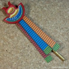 Playmobil: PLAYMOBIL ESTANDARTE EGIPCIO, BANDERA EGIPTO. Lote 209940798