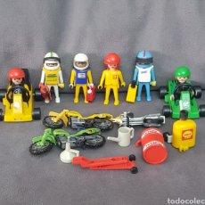 Playmobil: KARTS Y MOTORISTAS DE CARRERAS VINTAGE DE PLAYMOBIL. Lote 210306183