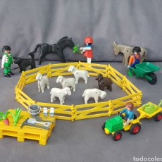 Playmobil: VALLADO GRANJA CON ACCESORIOS DE PLAYMOBIL. Lote 210306337