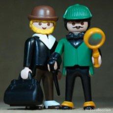 Playmobil: PLAYMOBIL SHERLOCK HOLMES Y DOCTOR WATSON, VICTORIANO DETECTIVES. Lote 210529395