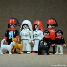 Playmobil: PLAYMOBIL FAMILIA DE CONSTANTINOPLA, VICTORIANO TURCOS CUSTOM. Lote 210529425