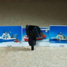Playmobil: PLAYMOBIL FOCO NEGRO CON SOPORTE 3539 3999 3599 PARTES PIEZAS LUZ BARCO PATRULLERA. Lote 211442616