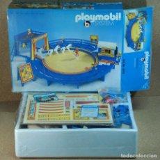 Playmobil: PLAYMOBIL 3510 ANTIGUO CIRCO AZUL - COMPLETO CON CAJA, PRIMERA ÉPOCA KLICKY FIGURAS MANOS FIJAS. Lote 211503216
