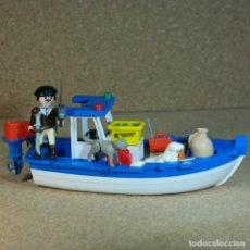 Playmobil: PLAYMOBIL GAUCHO PATAGONICO CON SU LANCHA. Lote 211521832