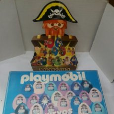 Playmobil: PLAYMOBIL 9985 CAJA EXPOSITOR HUEVOS SORPRESA. VACÍA. 1998. INCLUYE EL PIRATA EXPOSITOR.51 X 36 X 10. Lote 222186386