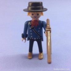 Playmobil: PLAYMOBIL FIGURA HOMBRE DEL OESTE WEST + ARMA Y SOMBRERO. Lote 212512000