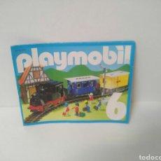 Playmobil: PLAYMOBIL DIFICIL CATALOGO 6 REFERENCIAS ESQUI MEDIEVAL OBRAS PIRATAS INDIOS CONSTRUCCION GRANJA. Lote 213284020