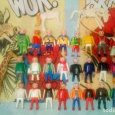 Playmobil: LOTE DE 31 FIGURAS DE PLAYMOBIL CON DEFECTOS, PARA PIEZAS O REPARAR. Lote 213359206