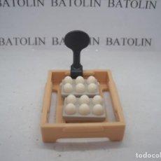 Playmobil: PLAYMOBIL CAJA CON HUEVOS HORTALIZAS MERCADO CIUDAD COMIDA. Lote 294367933