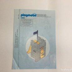 Playmobil: INSTRUCCIONES DE PLAYMOBIL 9989 CARCEL CASTILLO PIRATA. Lote 213558003