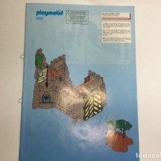 Playmobil: INSTRUCCIONES DE PLAYMOBIL 3030 MURO CASTILLO FORTALEZA MEDIEVAL. Lote 213560436