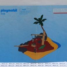 Playmobil: PLAYMOBIL 4136 INSTRUCCIONES MONTAJE MANUAL BARCO NAUFRAGIO ISLA PIRATA. Lote 213920037