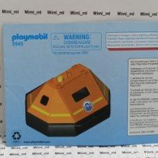 Playmobil: PLAYMOBIL 5545 INSTRUCCIONES MONTAJE MANUAL BALSA SALVAVIDAS BOTE RESCATE. Lote 213920082