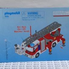 Playmobil: PLAYMOBIL 4820 INSTRUCCIONES MONTAJE MANUAL CAMIÓN BOMBEROS. Lote 213920447