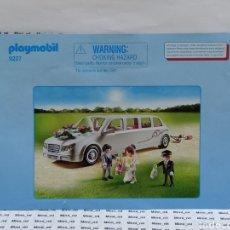 Playmobil: PLAYMOBIL 9227 INSTRUCCIONES MONTAJE MANUAL LIMUSINA BODA COCHE NOVIOS CITY LIFE. Lote 213920735