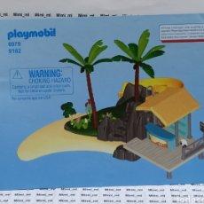 Playmobil: PLAYMOBIL 6979 INSTRUCCIONES MONTAJE MANUAL RESORT VACACIONES ISLA. Lote 213921188