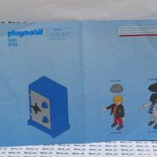 Playmobil: PLAYMOBIL 3161 INSTRUCCIONES MONTAJE MANUAL LADRONES CAJA FUERTE CIUDAD. Lote 213921247