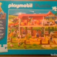 Playmobil: PUZZLE PLAYMOBIL GRANJA DE ANIMALES - REF.56163 - 100 PIEZAS. Lote 214420882
