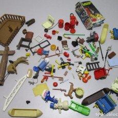 Playmobil: PLAYMOBIL, LOTE FIGURAS Y ACCESORIOS, VARIOS TEMAS Y ÉPOCAS. Lote 110835912
