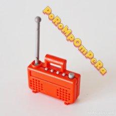 Playmobil: PLAYMOBIL RADIO ROJA 1ª ÉPOCA 3460 3495 3728 3771 TELE TELEVISIÓN AÑOS 70 Y 80 I5. Lote 214837677