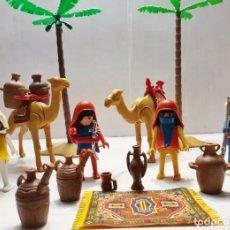 Playmobil: APRECIADO LOTE DE BEDUÍNOS DEL DESIERTO REF ANTIGUA PLAYMOBIL. Lote 214969223