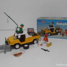 Playmobil: SAFARI EN EL CONGO, FAMOBIL, REF 3528, CAJA ORIGINAL, COMPLETO CON PEGATINAS SUELTAS. Lote 215664337