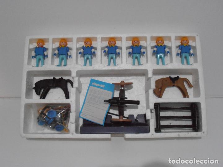 Playmobil: SEPTIMO DE CABALLERIA, FAMOBIL, REF 3408, CAJA ORIGINAL, CASI COMPLETO - Foto 4 - 215668922