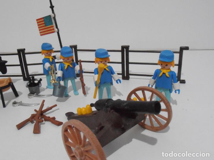 Playmobil: SEPTIMO DE CABALLERIA, FAMOBIL, REF 3408, CAJA ORIGINAL, CASI COMPLETO - Foto 10 - 215668922