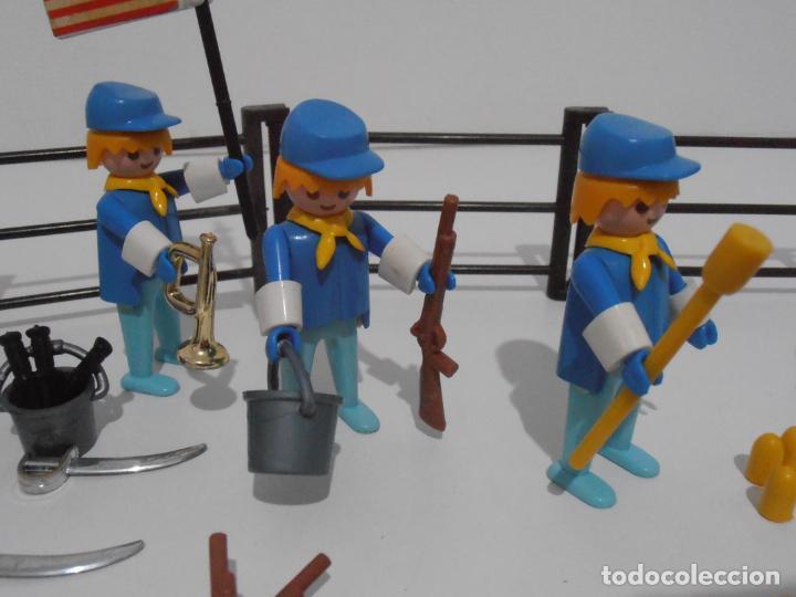 Playmobil: SEPTIMO DE CABALLERIA, FAMOBIL, REF 3408, CAJA ORIGINAL, CASI COMPLETO - Foto 11 - 215668922