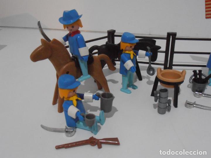 Playmobil: SEPTIMO DE CABALLERIA, FAMOBIL, REF 3408, CAJA ORIGINAL, CASI COMPLETO - Foto 12 - 215668922