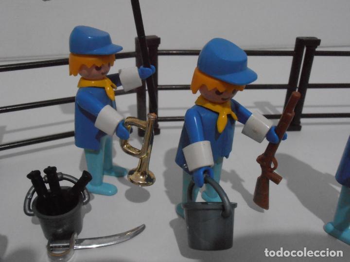 Playmobil: SEPTIMO DE CABALLERIA, FAMOBIL, REF 3408, CAJA ORIGINAL, CASI COMPLETO - Foto 13 - 215668922