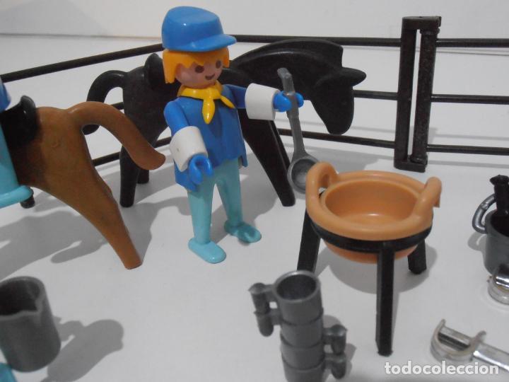 Playmobil: SEPTIMO DE CABALLERIA, FAMOBIL, REF 3408, CAJA ORIGINAL, CASI COMPLETO - Foto 14 - 215668922