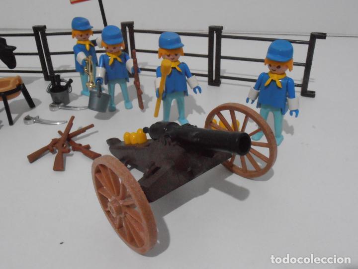 Playmobil: SEPTIMO DE CABALLERIA, FAMOBIL, REF 3408, CAJA ORIGINAL, CASI COMPLETO - Foto 15 - 215668922
