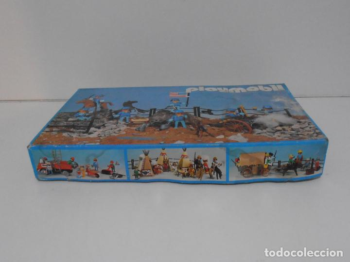 Playmobil: SEPTIMO DE CABALLERIA, FAMOBIL, REF 3408, CAJA ORIGINAL, CASI COMPLETO - Foto 17 - 215668922