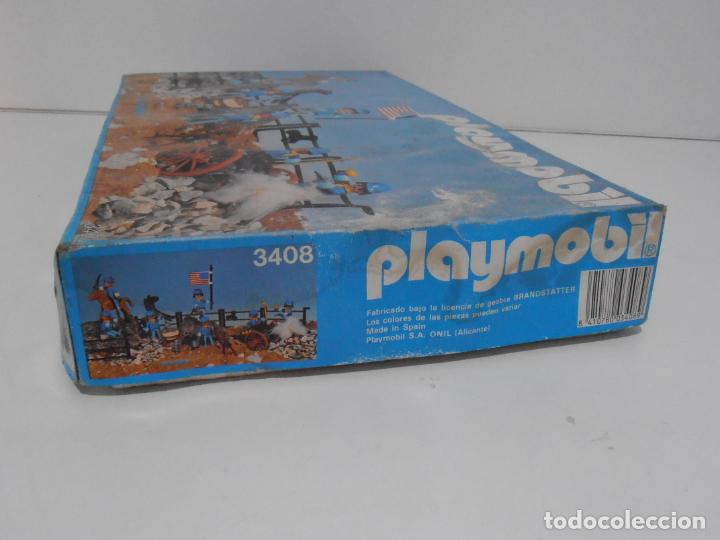 Playmobil: SEPTIMO DE CABALLERIA, FAMOBIL, REF 3408, CAJA ORIGINAL, CASI COMPLETO - Foto 18 - 215668922