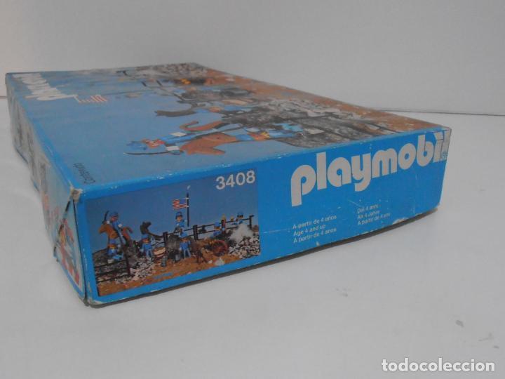 Playmobil: SEPTIMO DE CABALLERIA, FAMOBIL, REF 3408, CAJA ORIGINAL, CASI COMPLETO - Foto 21 - 215668922