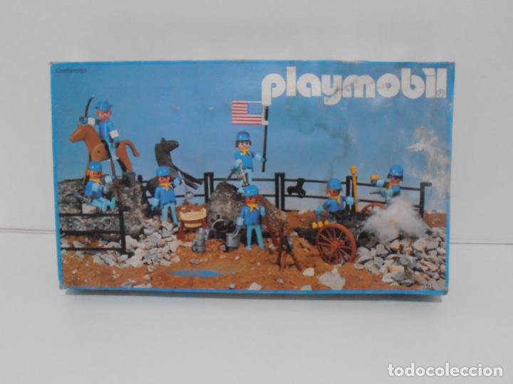 Playmobil: SEPTIMO DE CABALLERIA, FAMOBIL, REF 3408, CAJA ORIGINAL, CASI COMPLETO - Foto 22 - 215668922