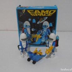Playmobil: DOS ASTRONAUTAS, FAMOSPACE FAMOBIL, REF 3589, CAJA ORIGINAL, CASI COMPLETO. Lote 215710541