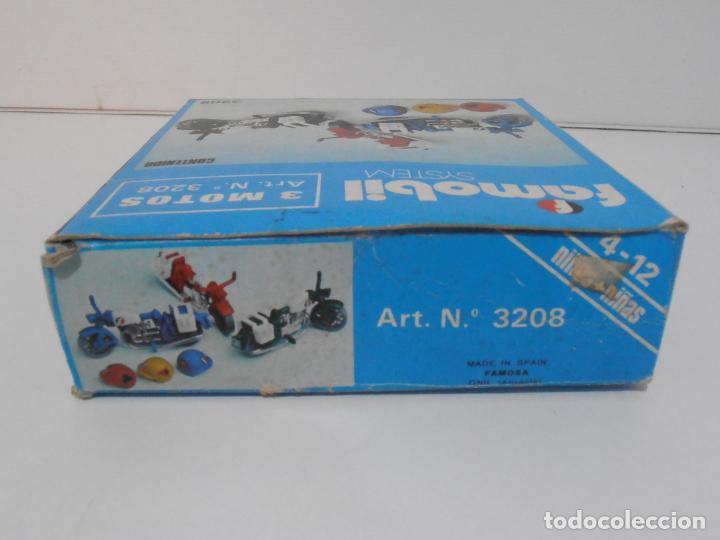 Playmobil: TRES MOTOS, FAMOBIL, REF 3208, CAJA ORIGINAL, COMPLETO - Foto 6 - 215710922