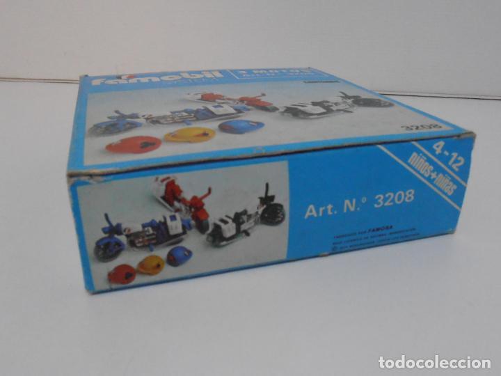 Playmobil: TRES MOTOS, FAMOBIL, REF 3208, CAJA ORIGINAL, COMPLETO - Foto 8 - 215710922