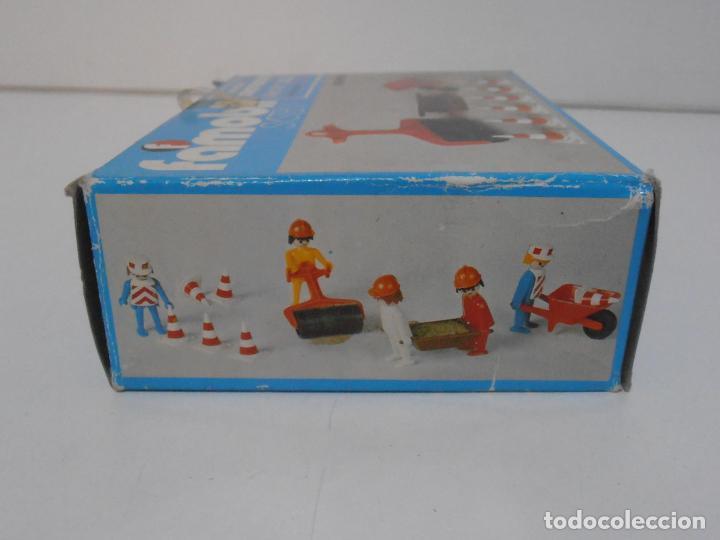 Playmobil: ACCESORIOS DE CONSTRUCCION, FAMOBIL, REF 3202, CAJA ORIGINAL, NUEVO A ESTRENAR - Foto 10 - 215711341