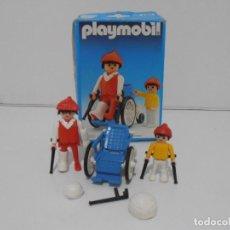 Playmobil: SILLA DE RUEDAS Y NIÑO, PLAYMOBIL, REF 3574, CAJA ORIGINAL, COMPLETO. Lote 215745475