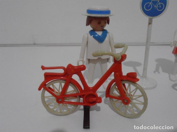 Playmobil: PAREJA DE CICLISTAS, FAMOBIL, REF 3573, CAJA ORIGINAL, COMPLETO - Foto 4 - 215745797