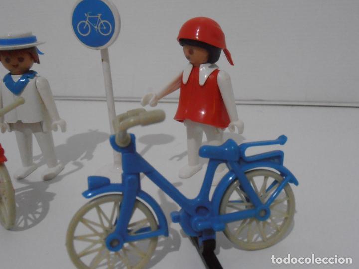 Playmobil: PAREJA DE CICLISTAS, FAMOBIL, REF 3573, CAJA ORIGINAL, COMPLETO - Foto 5 - 215745797