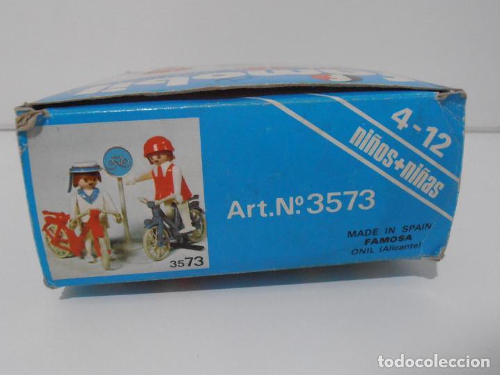 Playmobil: PAREJA DE CICLISTAS, FAMOBIL, REF 3573, CAJA ORIGINAL, COMPLETO - Foto 6 - 215745797