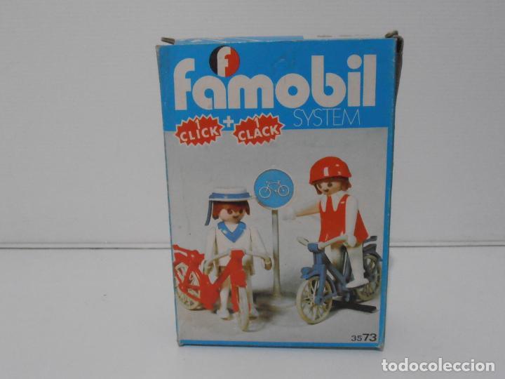 Playmobil: PAREJA DE CICLISTAS, FAMOBIL, REF 3573, CAJA ORIGINAL, COMPLETO - Foto 7 - 215745797