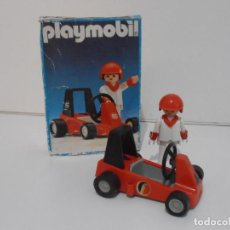 Playmobil: KART, PLAYMOBIL, REF 3575, CAJA ORIGINAL, COMPLETO. Lote 215746116
