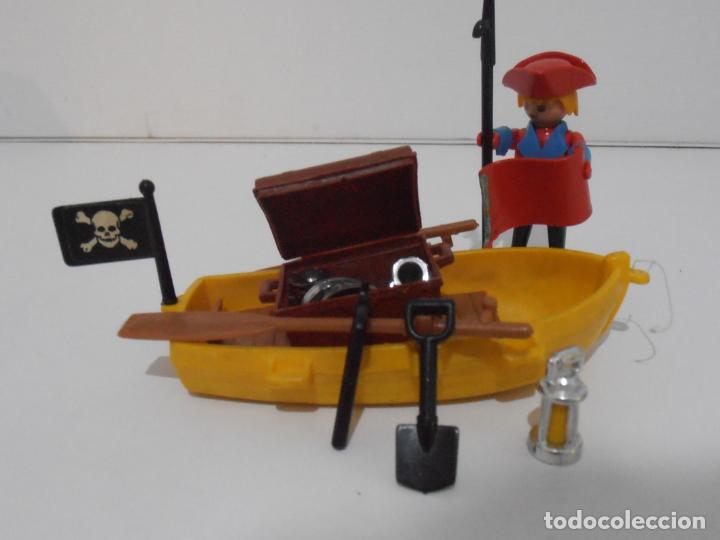 Playmobil: PIRATA CON BARCA, FAMOBIL, REF 3570, CAJA ORIGINAL, COMPLETO - Foto 4 - 215746761