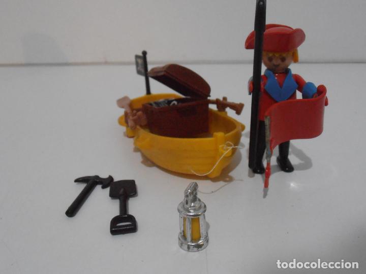 Playmobil: PIRATA CON BARCA, FAMOBIL, REF 3570, CAJA ORIGINAL, COMPLETO - Foto 5 - 215746761